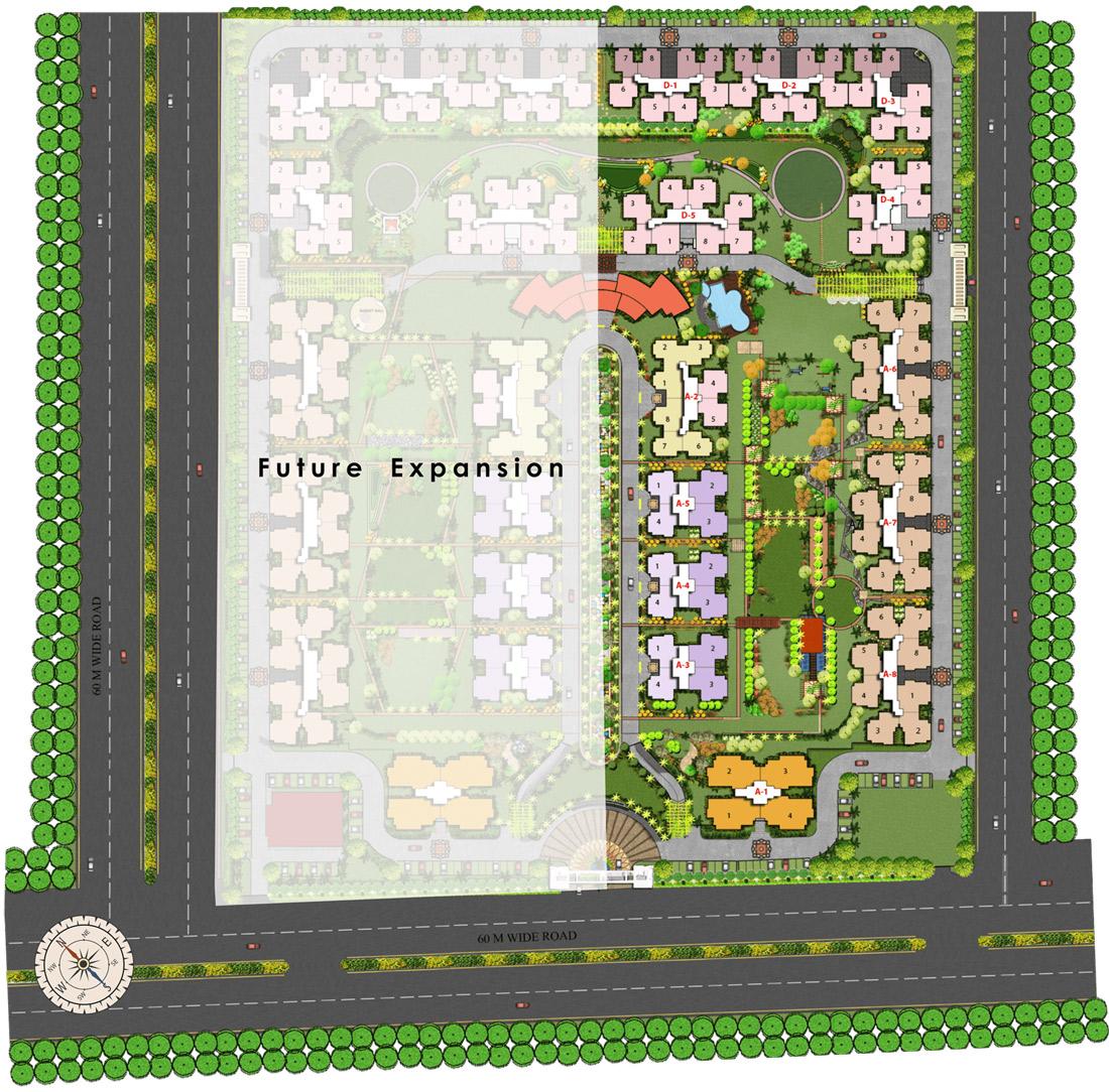 Nirala Aspire Site Plan